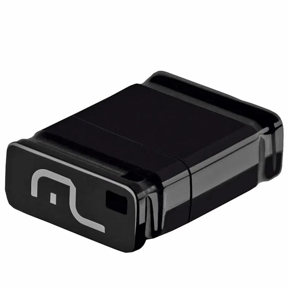 Pen Drive Nano 16gb Multilaser Pd054 Preto