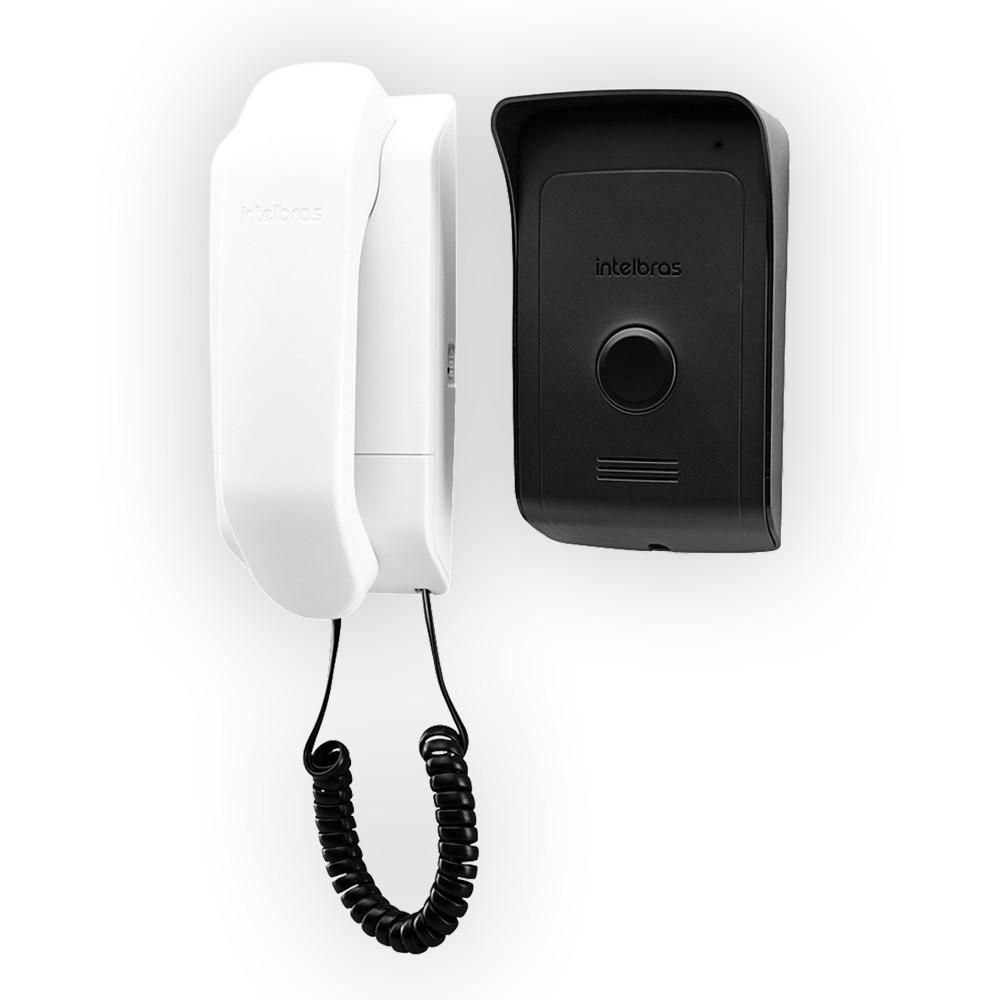 Porteiro Interfone Eletrônico IPR 1010 Residencial Intelbras, controle de acesso a distância
