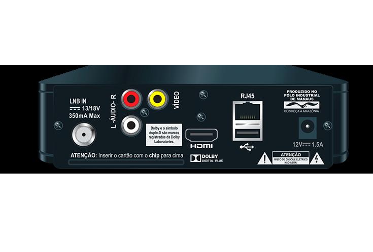 Receptor Elsys Digital Oi Tv Livre Hd Etrs35