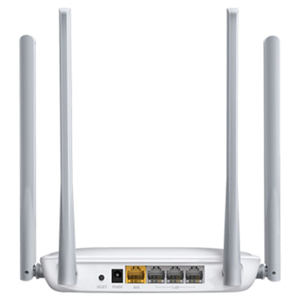 Roteador Wireless N Otimizado 300Mbps 4 Antenas Fixas 5 DBI MW325R Mercusys