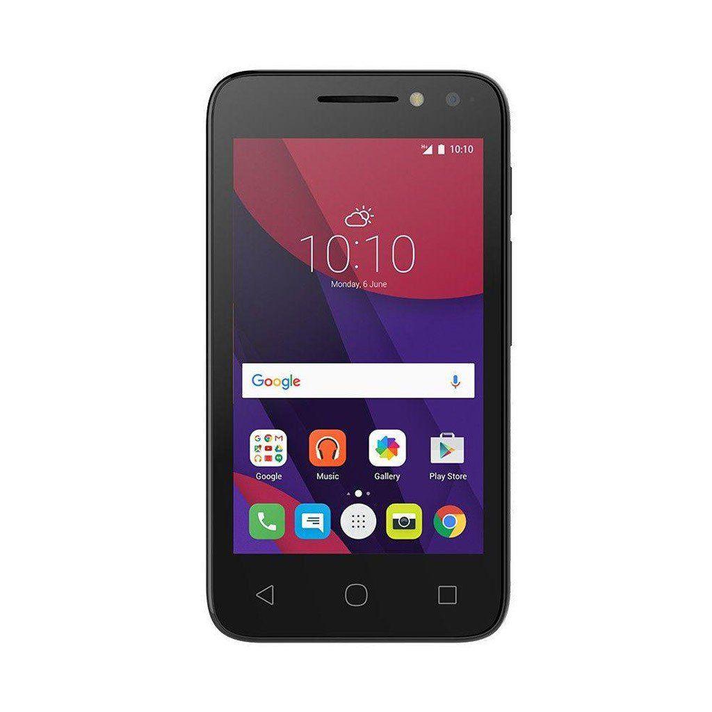 Smartphone Alcatel 4034E Light Pixi 4, Dual chip, 8MP, 4``, 8GB expansível até 32GB, 3G - Preto