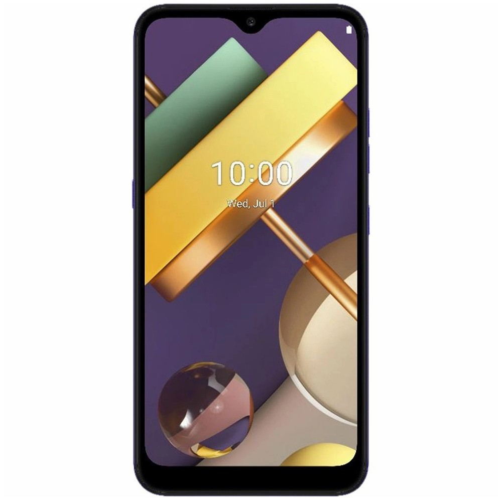 "Smartphone LG K22+ 64GB Dual Chip Android 10 Tela 6.2"" Quad Core 4G Câmera 13MP+2MP - Azul"