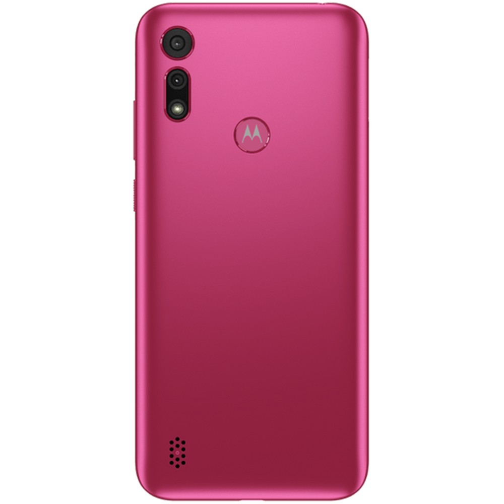 "Smartphone Motorola Moto E6S 32GB 4G Octa-Core 2GB RAM 6,1"" Câm. Dupla + Selfie 5MP - Pink"