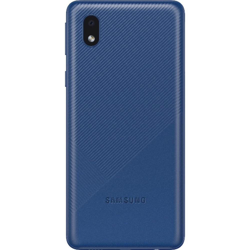 "Smartphone Samsung Galaxy A01 Core 32GB Azul - Quad-Core 2GB RAM Tela 5,3"" Câm. 8MP + Selfie 5MP - Azul"