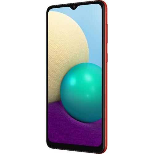 Smartphone Samsung Galaxy A02 32GB 4G Wi-Fi Tela 6.5'' Dual Chip 2GB RAM Câmera Dupla + Selfie 5MP - Vermelho