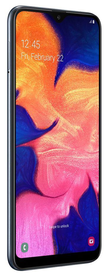 "Smartphone Samsung Galaxy A10 32GB Dual Chip Android 9.0 Tela 6.2"" Octa-Core 4G Câmera 13MP - Preto"