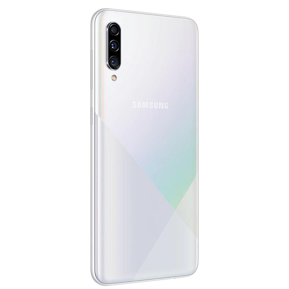 "Smartphone Samsung Galaxy A30s 64GB Dual Chip Android 9.0 Tela 6.4"" Octa-Core 4G Câmera Tripla - Branco"