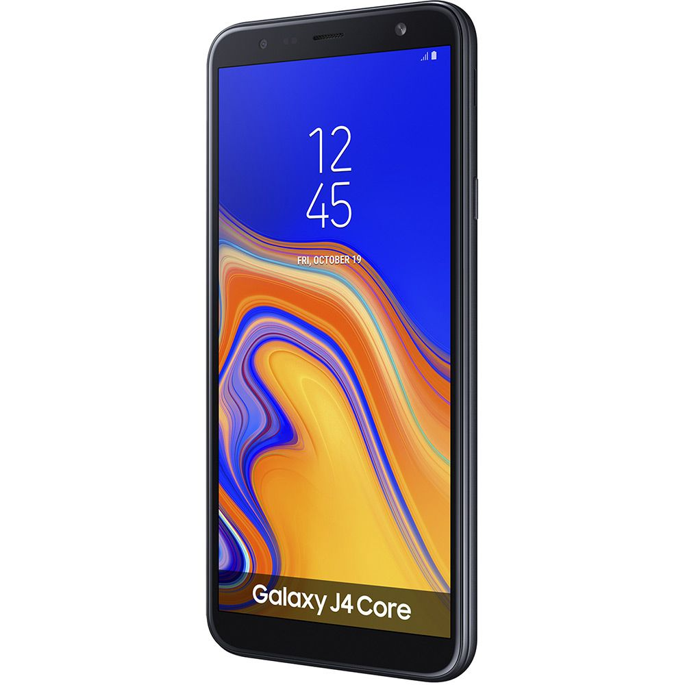 "Smartphone Samsung Galaxy J4 Core 16GB Nano Chip Android Tela 6"" Quad-Core 1.4GHz 4G Câmera 8MP -  Preto"