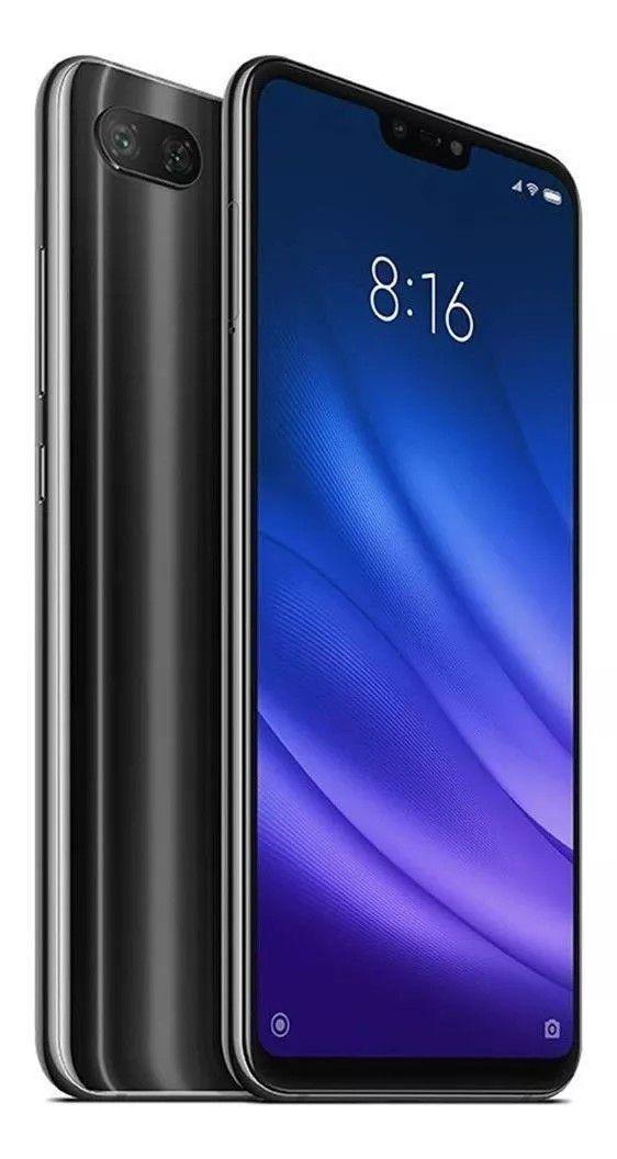 "Smartphone Xiaomi Mi 8 Lite 64GB Rom 4GB Ram Dual Chip Tela 6.26"" Desbloqueado Versão Global - Preto"