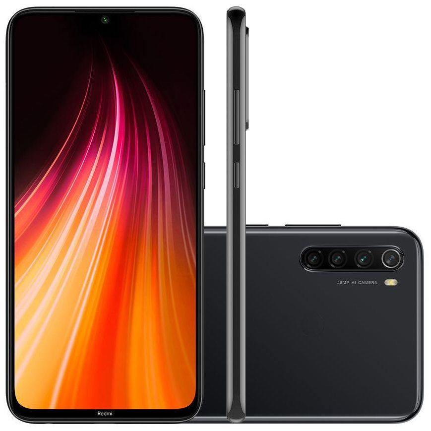 Smartphone Xiaomi Redmi Note 8 64GB 4GB RAM - Versão Global Desbloqueado Space Black