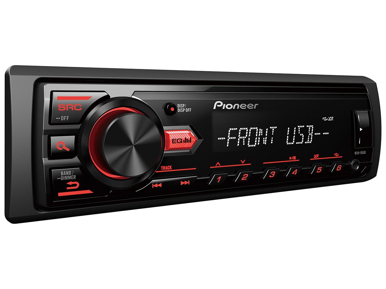 Som Automotivo Pioneer MVH-98UB MP3 Player - Rádio AM/FM Entrada USB e Auxiliar