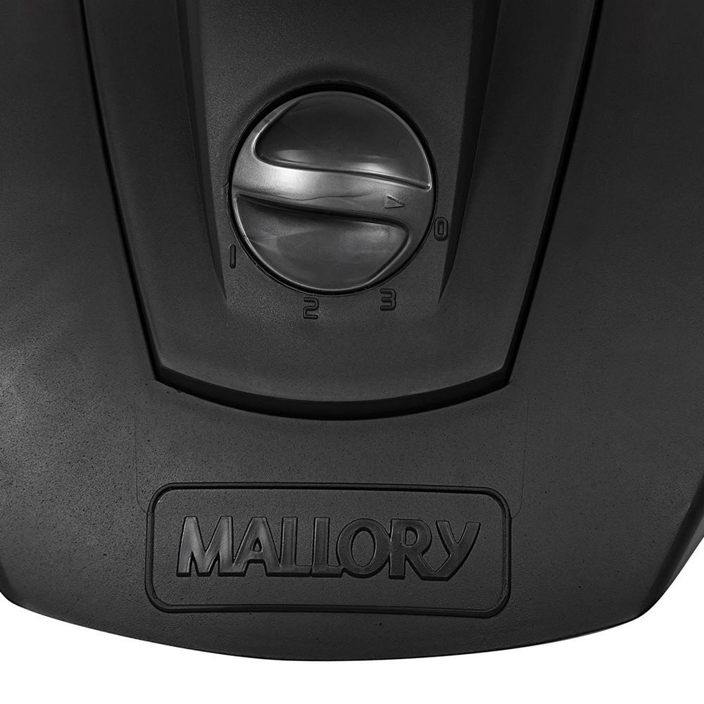 Ventilador de Mesa Mallory Olimpo 40cm 6 Pás 3 Velocidades Preto e Grafite 220V