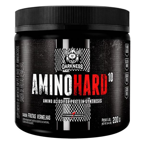 Amino Hard 10 200g Darkness Integralmedica
