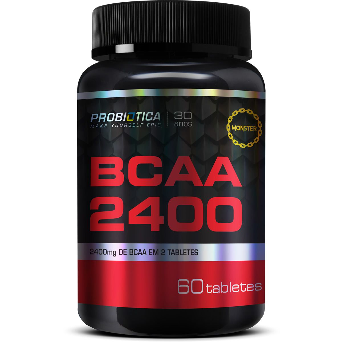 Bcaa 2400 (60 Tabletes) Probiótica