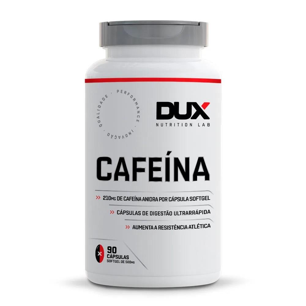 Cafeína Dux Termogênico - Pote 90 Cápsulas