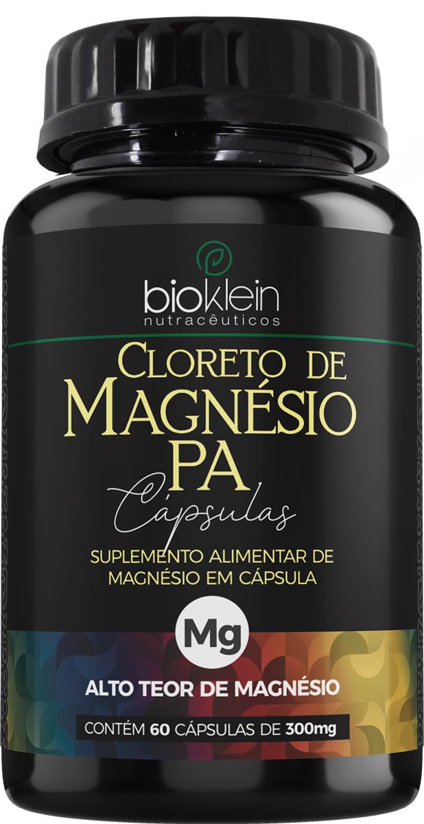 Cloreto de Magnésio PA 350mg 60 Cápsulas Bioklein