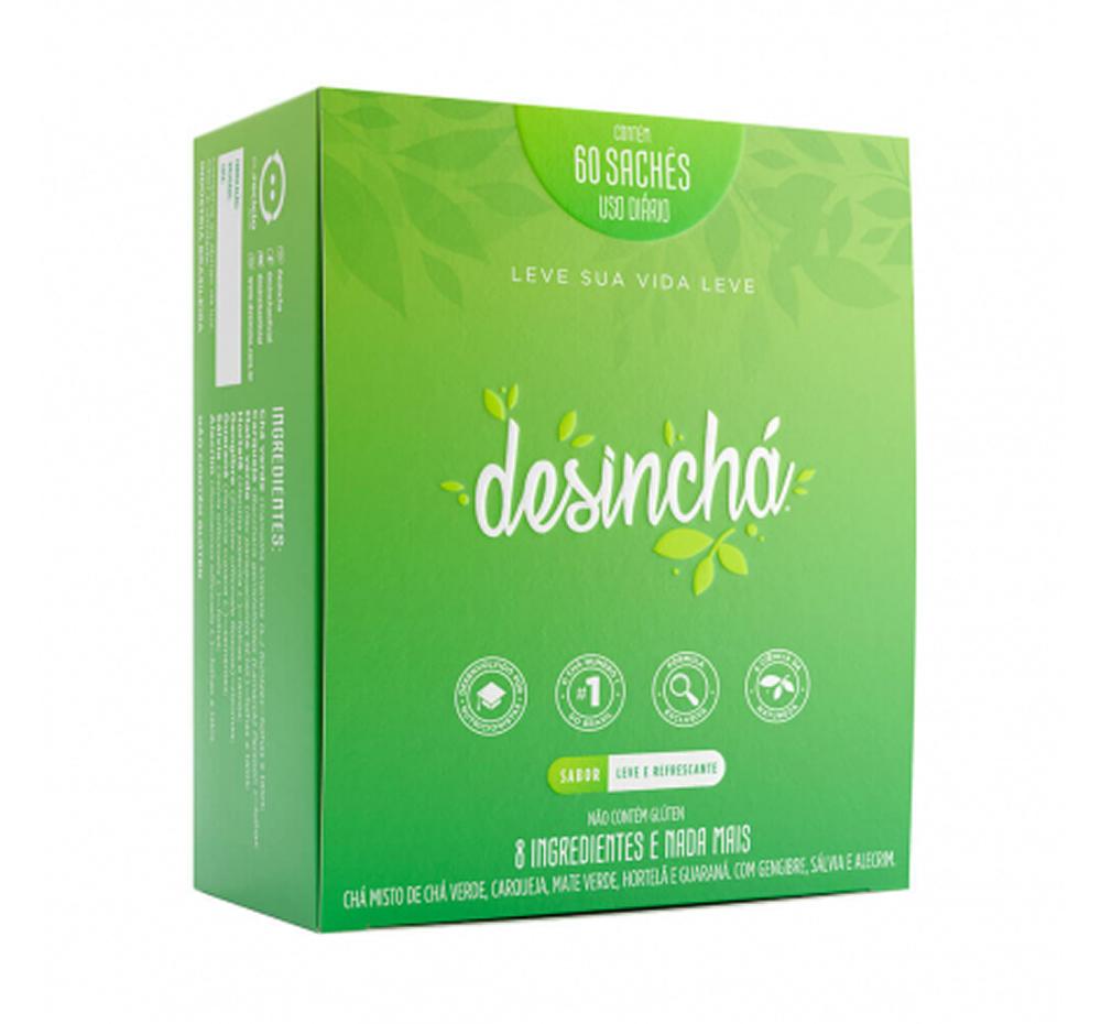 Desinchá Dia Desinchá 60 Dias Original com 60 sachês