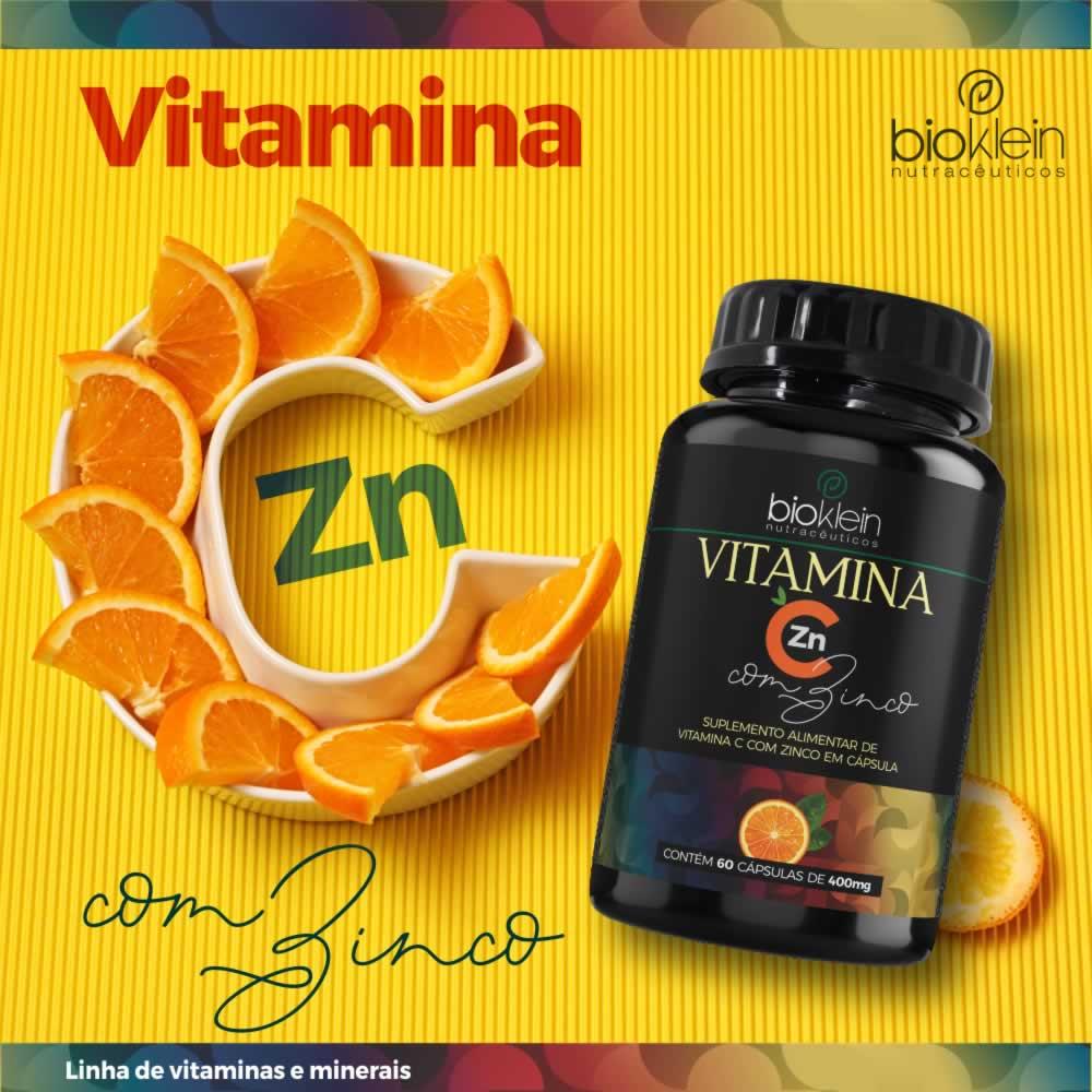 Extrato De Própolis e Vitamina C com Zinco 240 Cápsulas 4x60 Bioklein