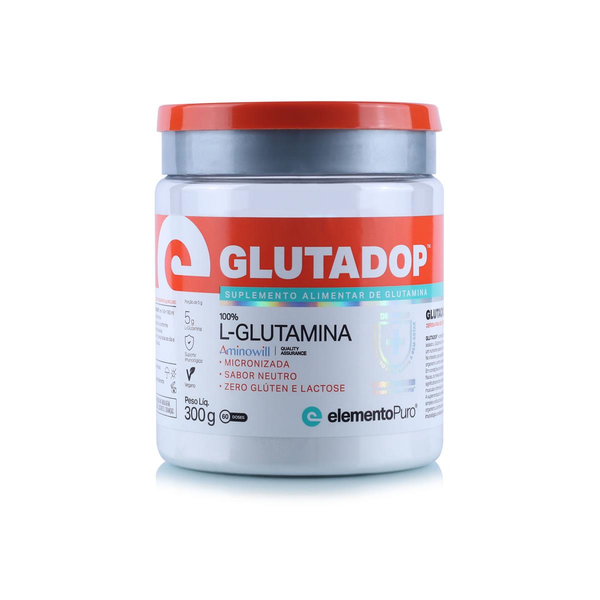 Glutadop Glutamina (300g) Elemento Puro