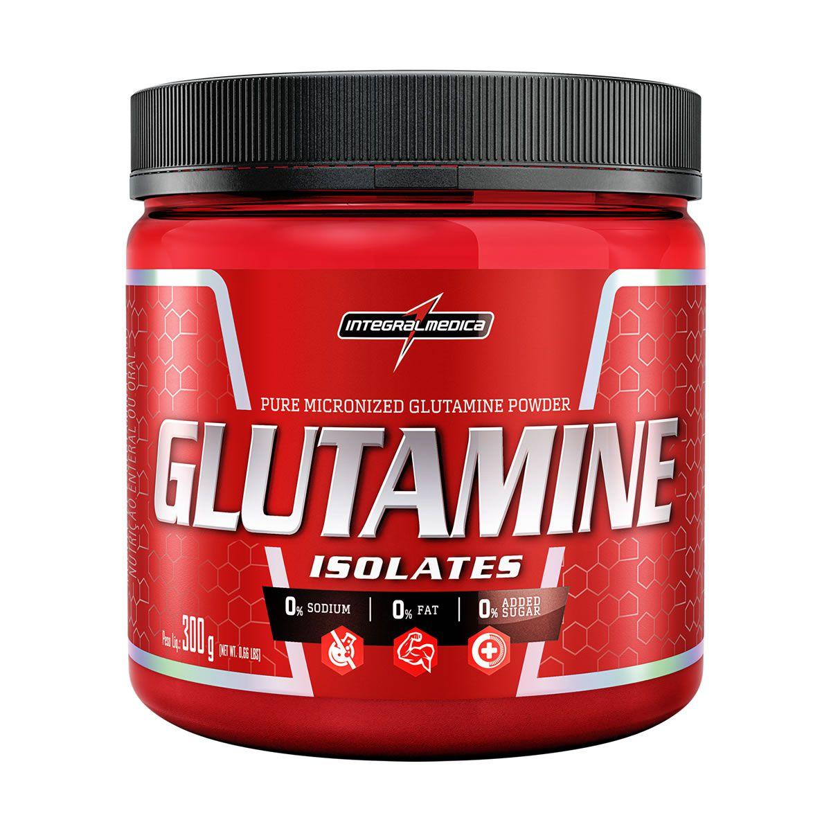 Glutamina Natural (300g) Integralmédica