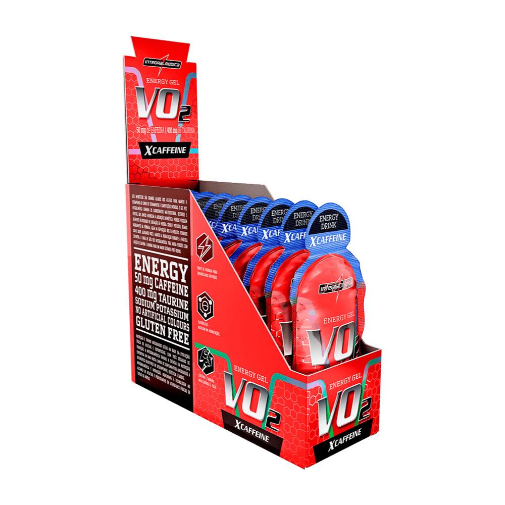 IM VO2 GEL X-CAFFEINE ENERGY DRINK DISPLAY 10UND
