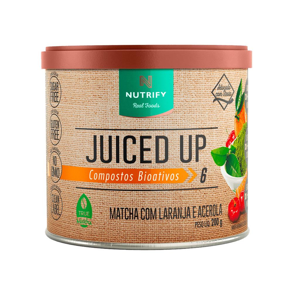 Juiced Up Nutrify 200g Matcha com Laranja e Acerola
