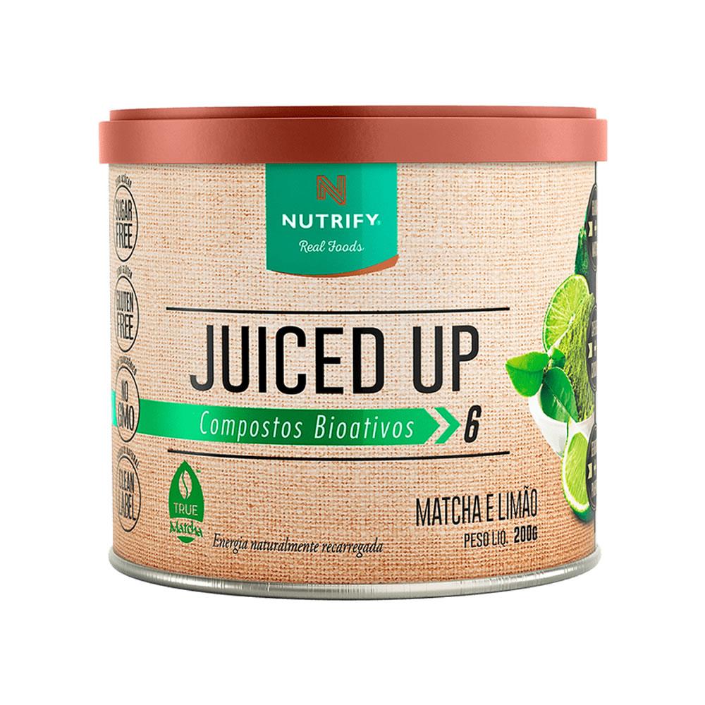 Juiced Up Nutrify 200g Matcha com Limão