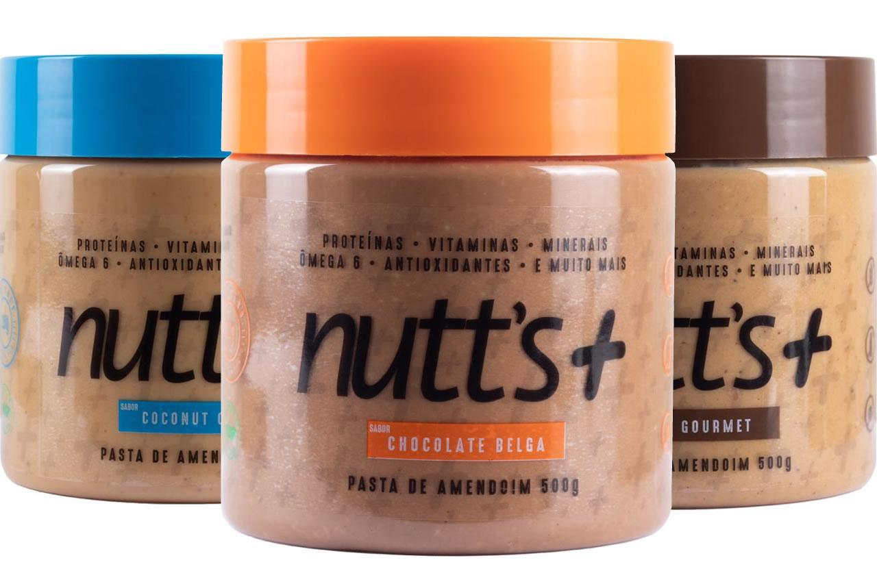 Kit Nutts Mais Pasta de Amendoim Sabor Chocolate Coco e Café