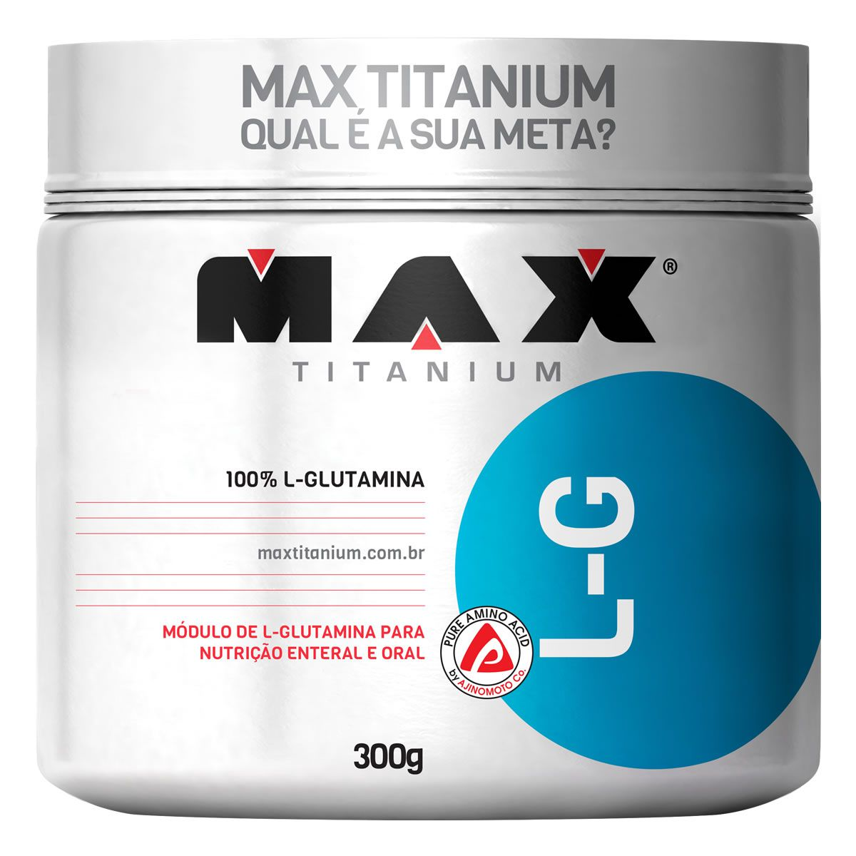 LG Glutamina Pura (300g) Max Titanium