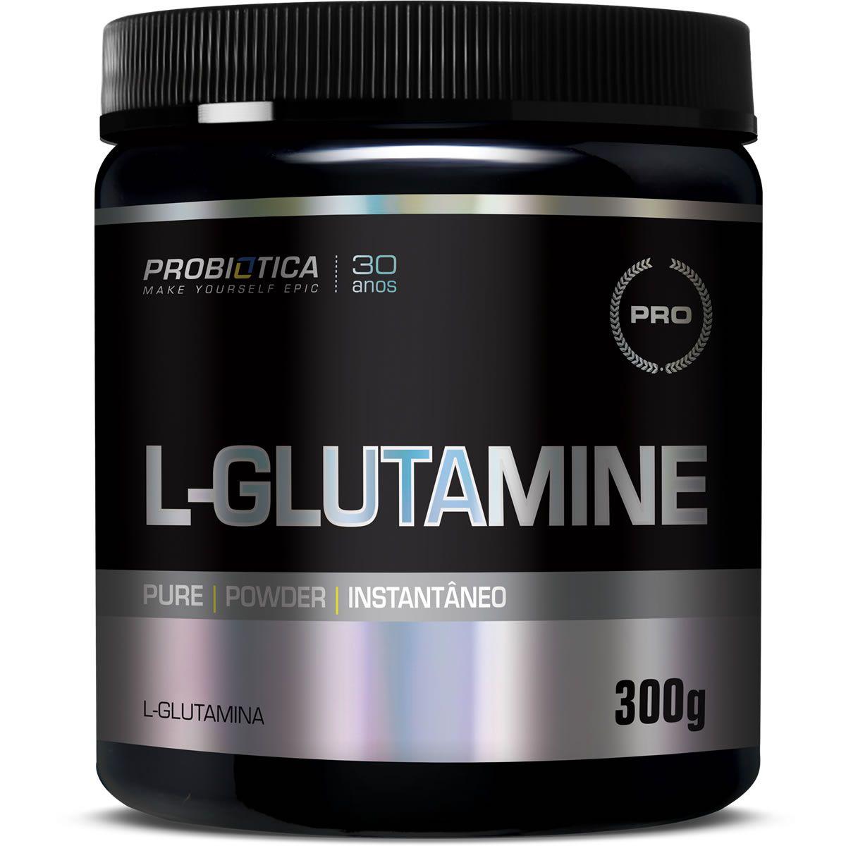 Glutamina Pura (300g) Probiótica