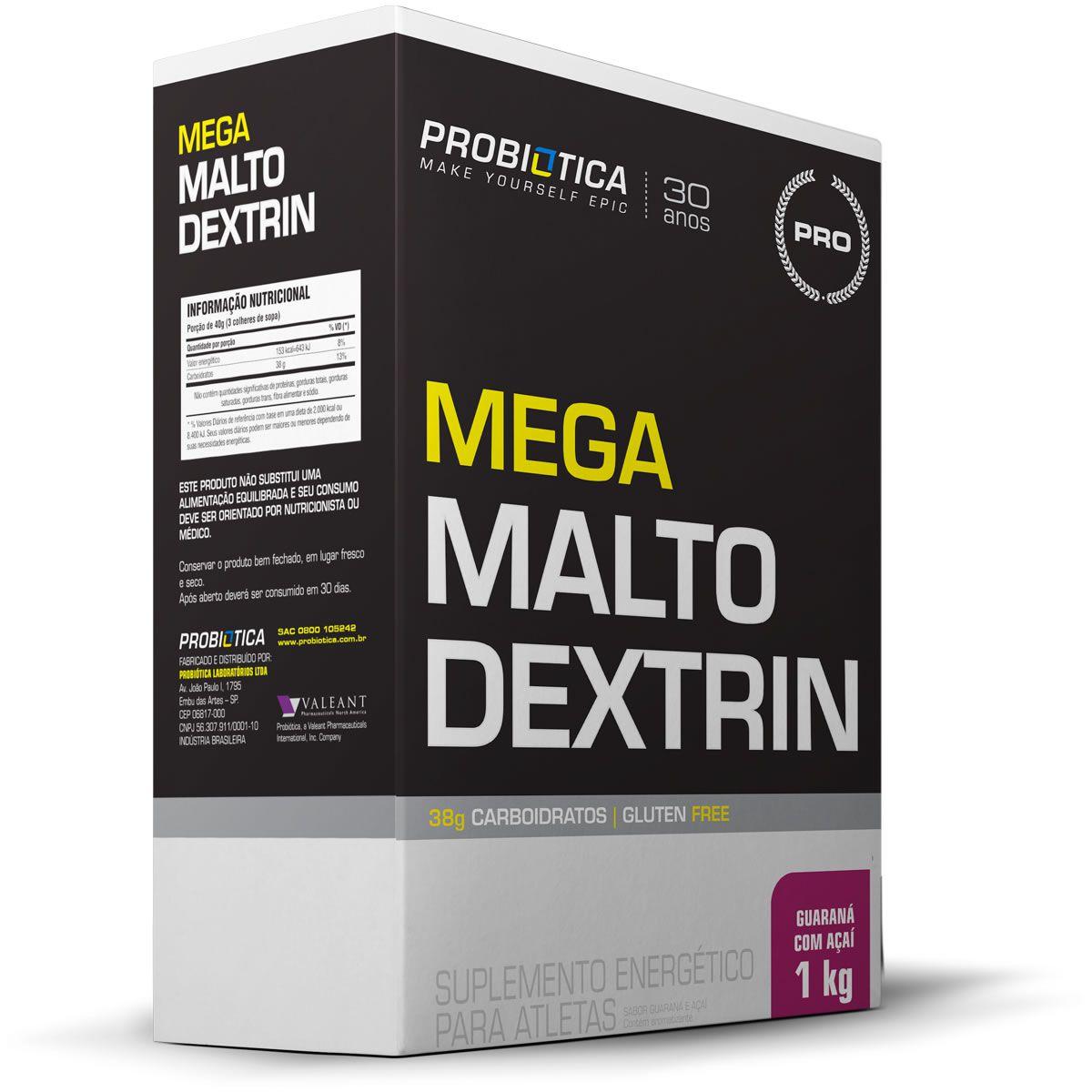 Mega Maltodextrin (1kg) Probiótica