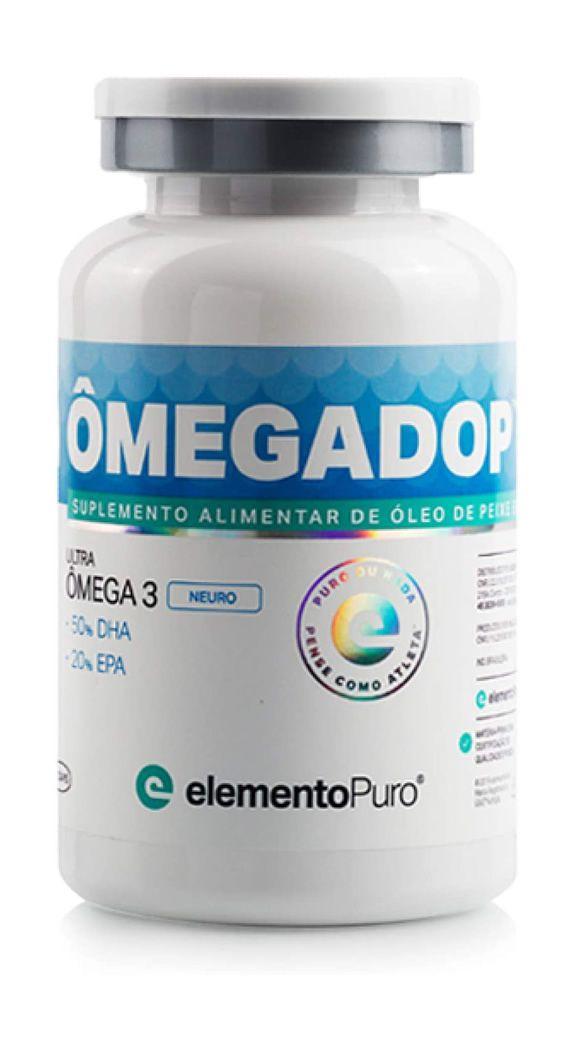 Ômegadop Neuro Ômega-3 DHA (60 cápsulas) Elemento Puro