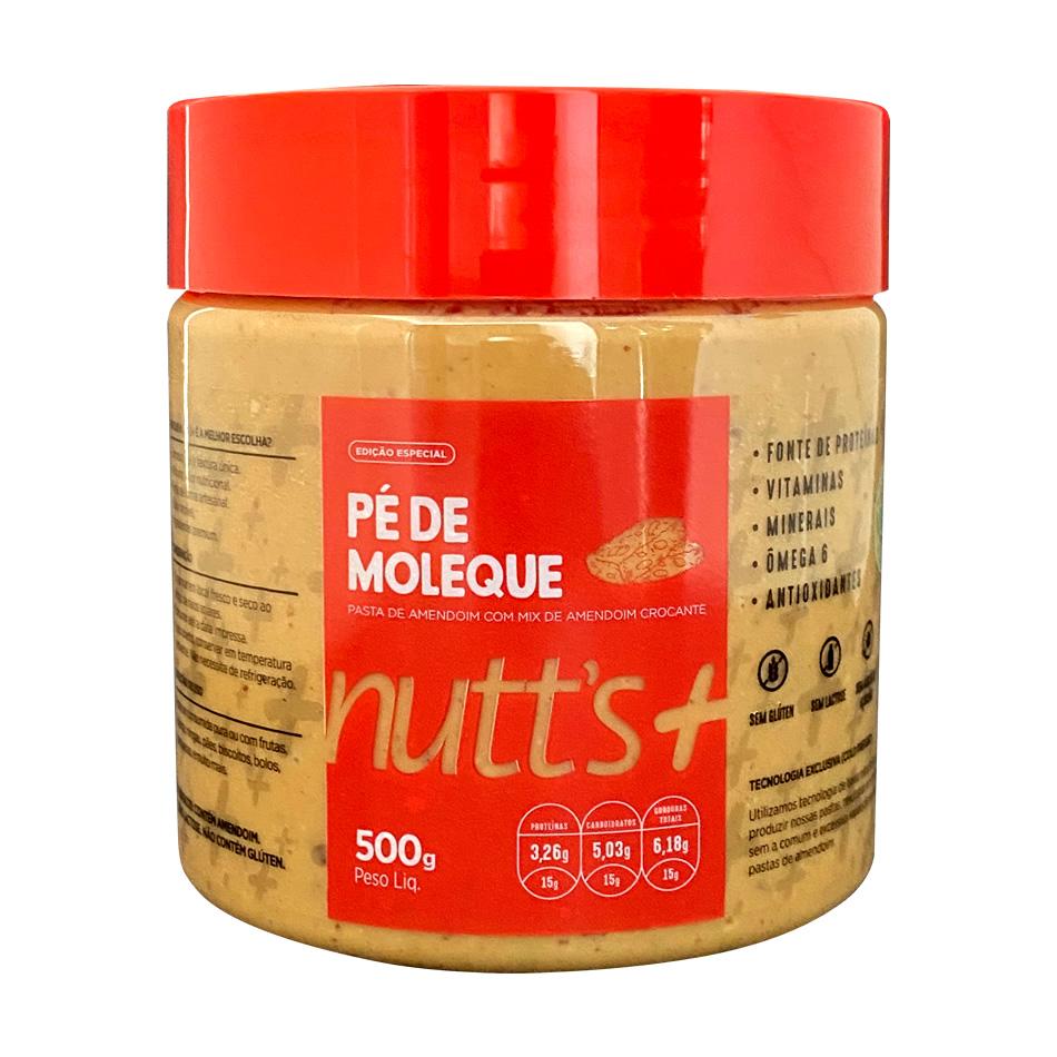 Pasta de Amendoim Gourmet Pé de Moleque 500g Nutts Mais