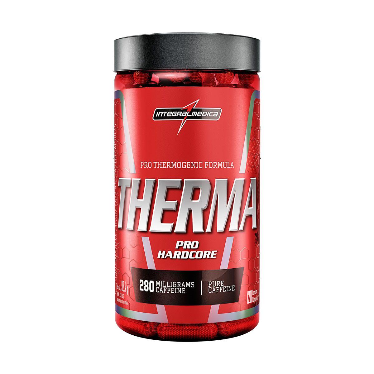 Termogênico Therma Pro Hardcore (120 Cáps) Integralmedica