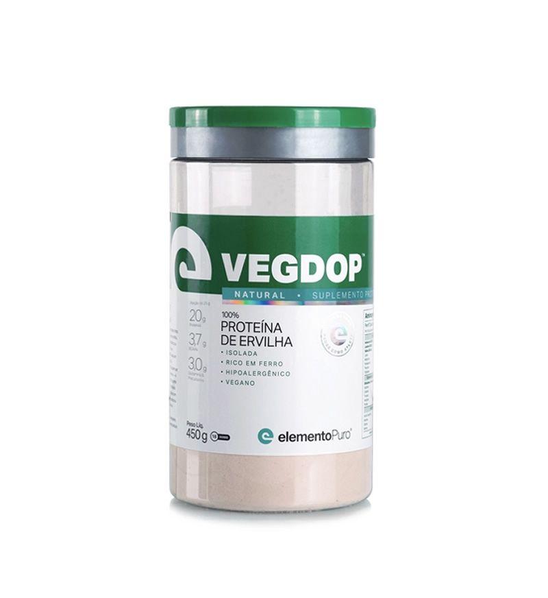 Vegdop Proteína de Ervilha 450g Elemento Puro - Natural
