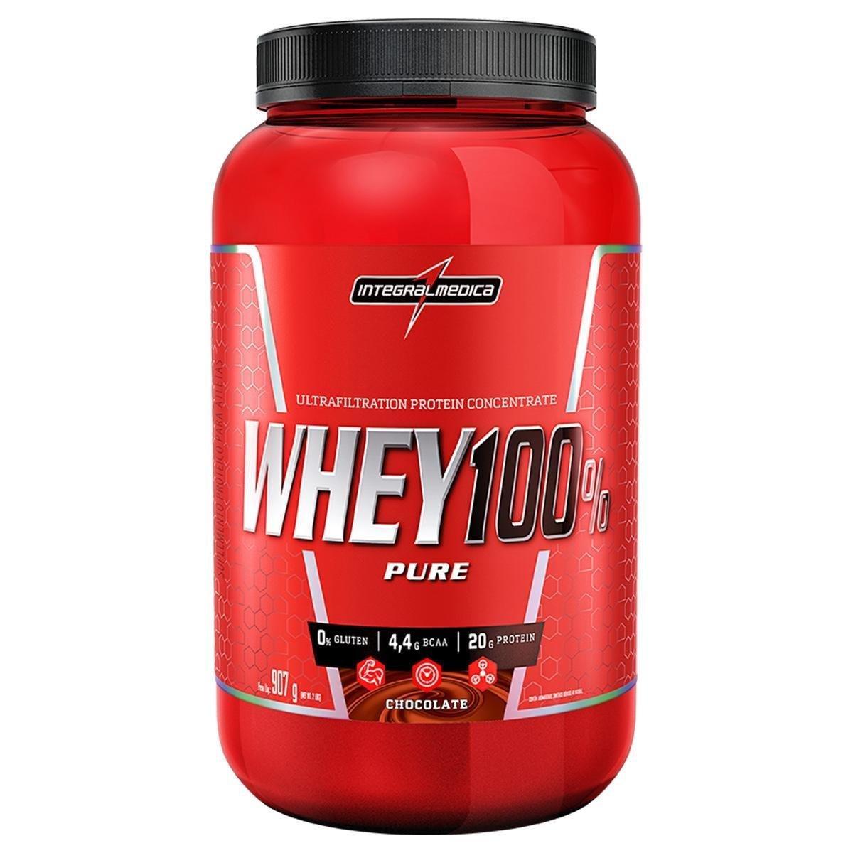 Whey 100% Pure (907g) Integralmedica
