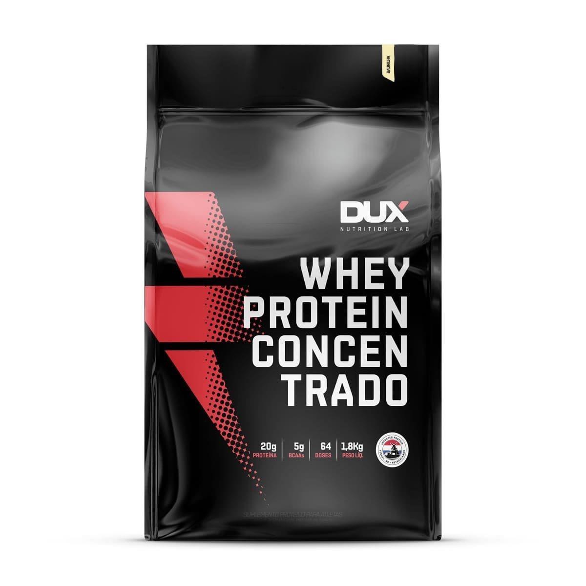 Whey Protein Concentrado (1800g) Baunilha DUX