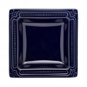 Jogo de Pratos Fundos Porcelana Oxford Royal 21x21cm 6 Unidades
