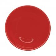 Jogo de Pratos Fundos Vermelhos Oxford Red 20,5cm 6 Unidades