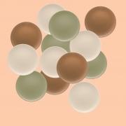 Jogo de Pratos Rasos Fundos e de Sobremesa Oxford Unni Color 6 Unidades Cada
