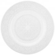 Jogo de Pratos Rasos Porcelana Oxford Dress 28cm 6 Unidades