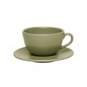 Jogo de Xícaras de Chá Oxford Oliva 200ml 6 Unidades