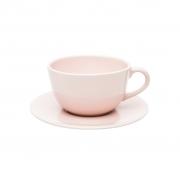 Jogo de Xícaras de Chá Rosa Milenial Oxford 200ml 6 Unidades