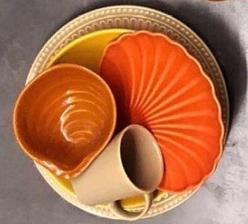 Aparelho de Jantar 30 Peças Coleção Especiarias Rita Lobo