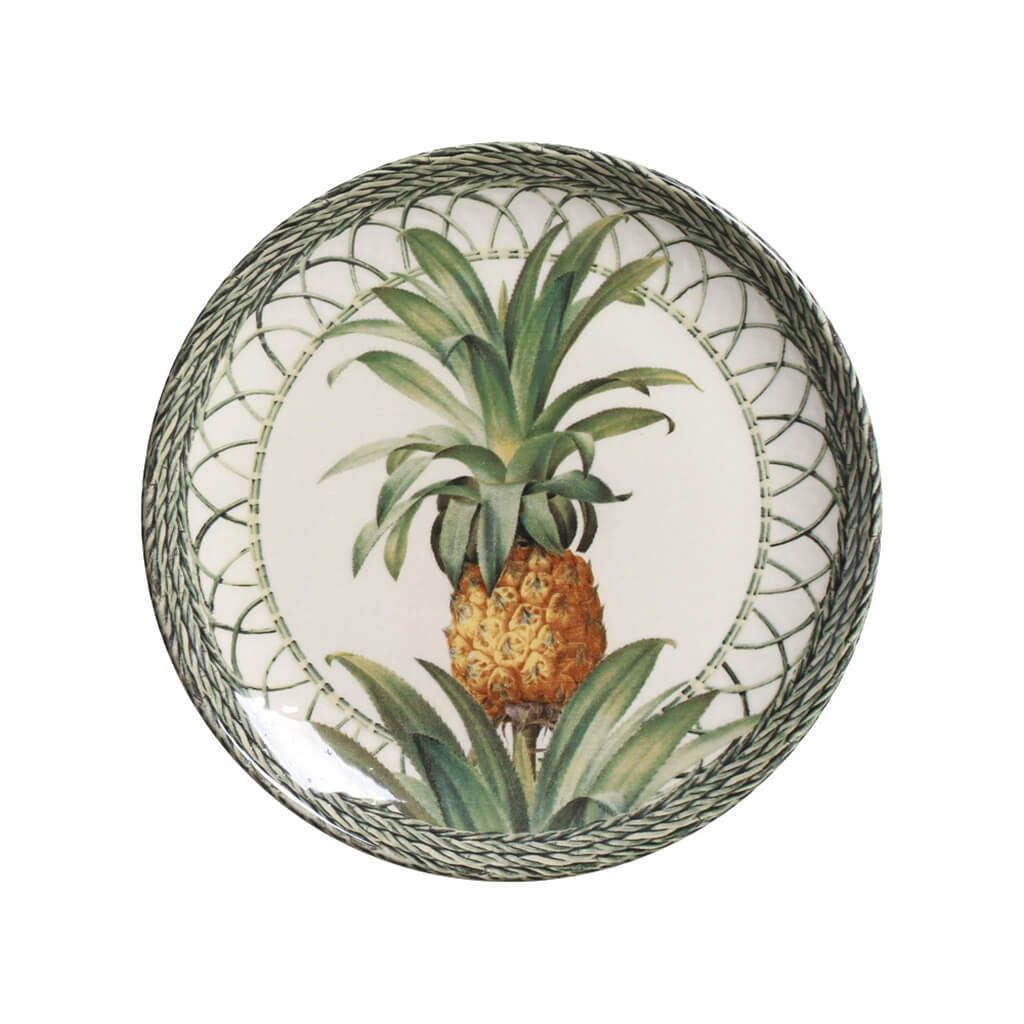 Aparelho de Jantar Abacaxi Porto Brasil Pineapple Green 20 peças