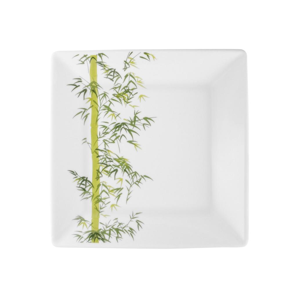 Aparelho de Jantar em Porcelana 42 Peças Quadrado Oxford Bamboo
