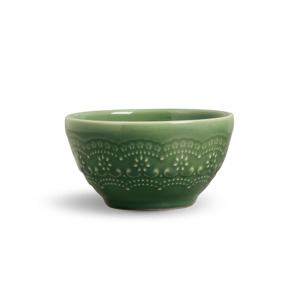 Bowls Vermelho, Verde e Cru Madeleine Porto Brasil 6 Unidades