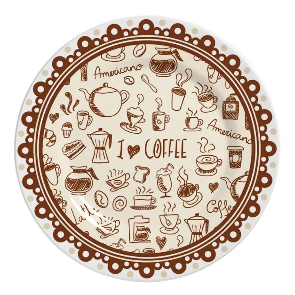 Jogo de Café Alleanza Coffee 12 Peças