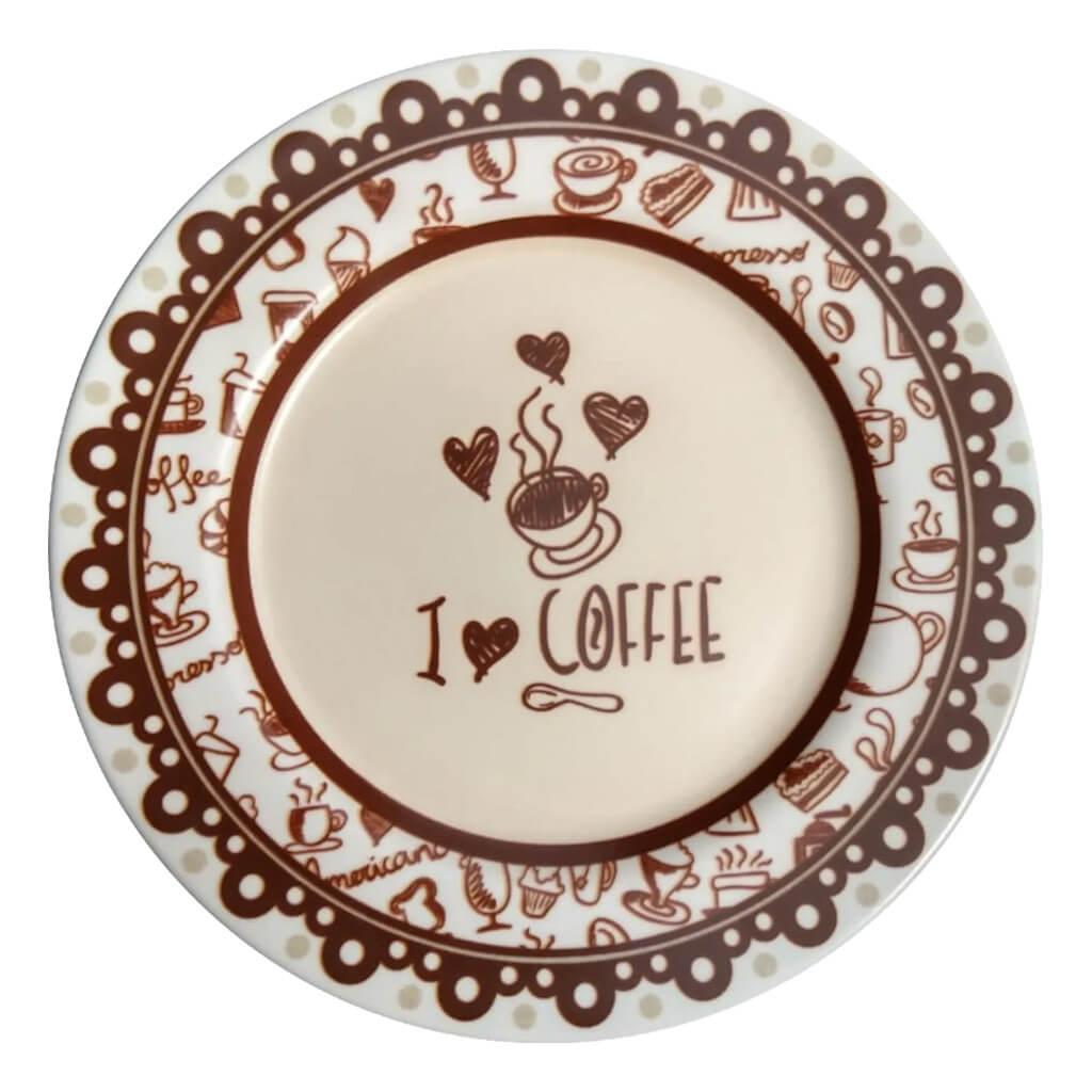 Jogo de Chá Alleanza Coffee 12 Peças