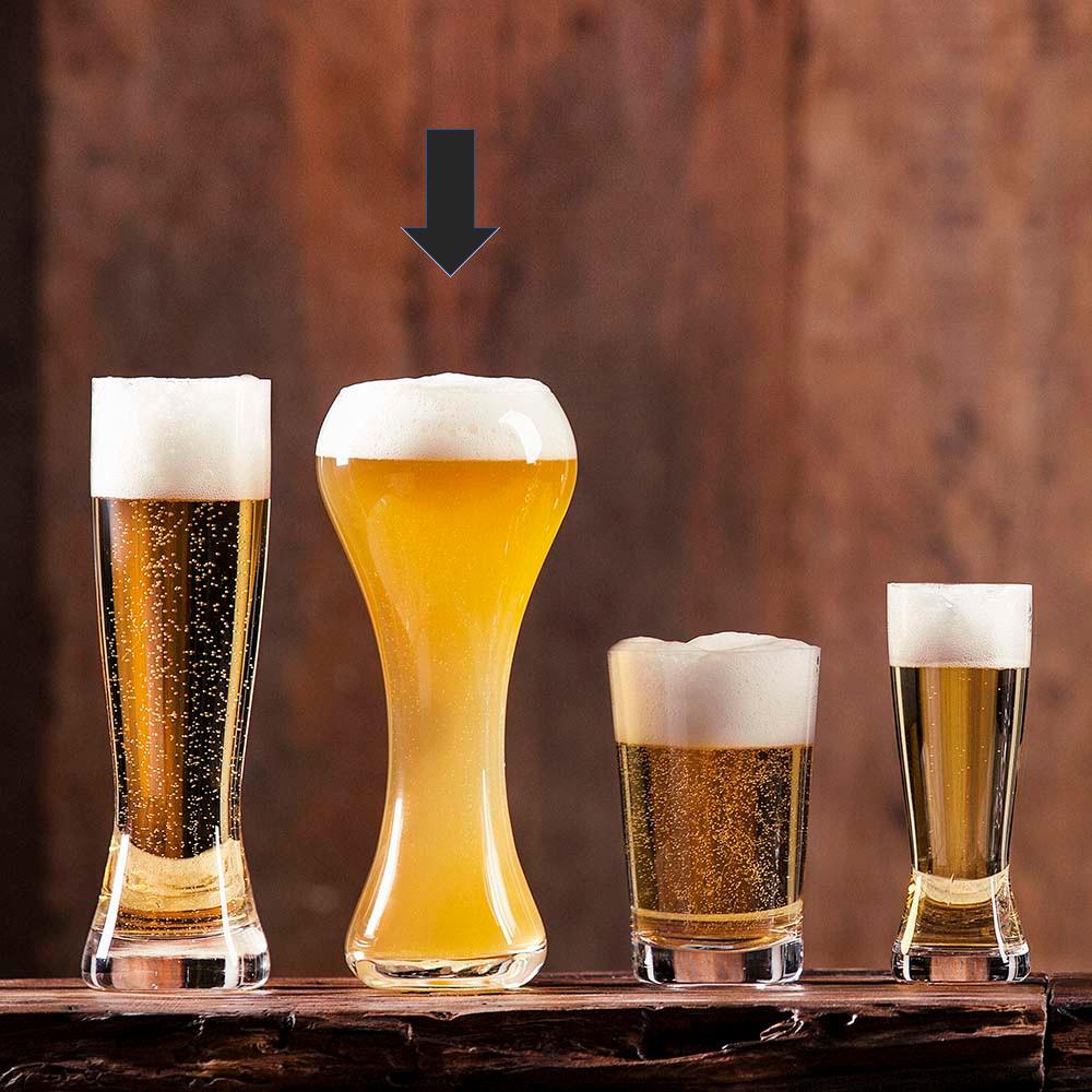 Jogo de Copos de Cerveja em Cristal Oxford Weizen 600ml Classic 6 Unidades